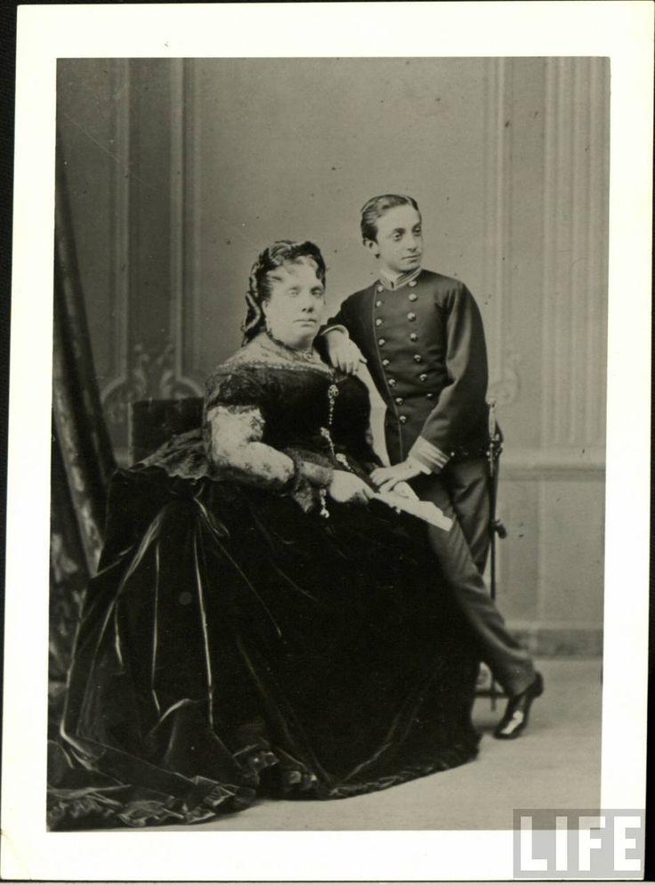 Isabel II y Alfonso XII