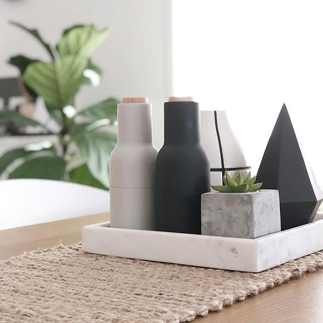 How Great Does Our 8 Jute Woven Table Runner Look In This Shot Styled By My Styled Home Thanks For Sharing Kma Table Runners Kmart Home Bottles Decoration