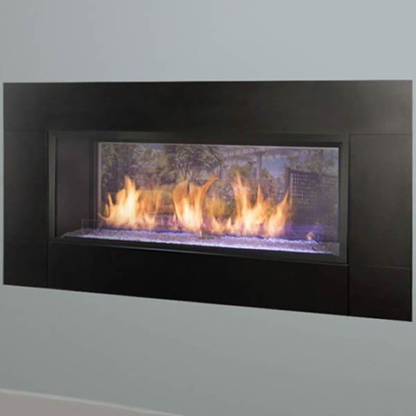 Empire Boulevard Ventless See Through Gas Fireplace 48