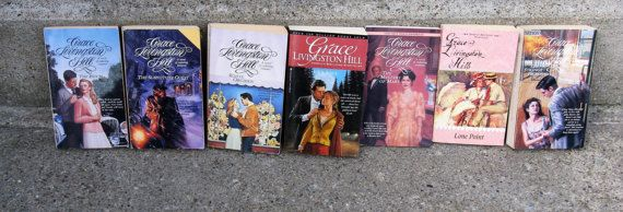 grace livingston hill romance novel collection by rivertownvintage