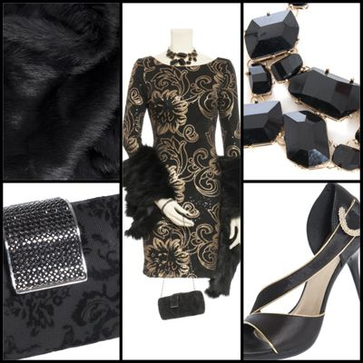 Over the Top Gold & Black | @Le Chateau