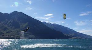 Kitesurfen Hotel Capo Reamol Limone Gardasee