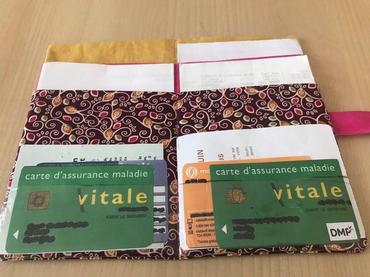 Pochette Papiers De Sante Taote Patron Et Explications