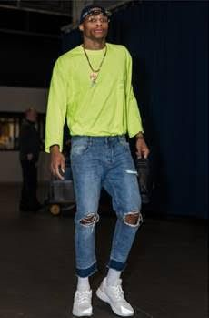 GQ Presents The Official Russell Westbrook NBA 2016/17 Game Day Style Look Book   Terez Owens - #1 Sports Gossip Blog