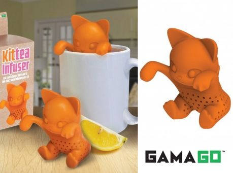 Image of Adorable Kit-Tea Infuser Silicone Tea Steeper