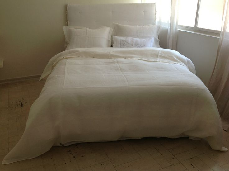 cama bed lino linen colomba