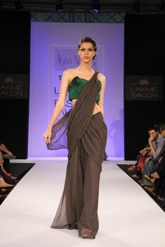 Indian Designer Astha Narang at Lakme Indian Fashion Week as part of Summer 2013. Follow Strand of Silk to get the best of Beautiful Indian Fashion from leading Fashion Designers, including Contemporary Indian Fashion and Indian Bridal clothes like Saris,