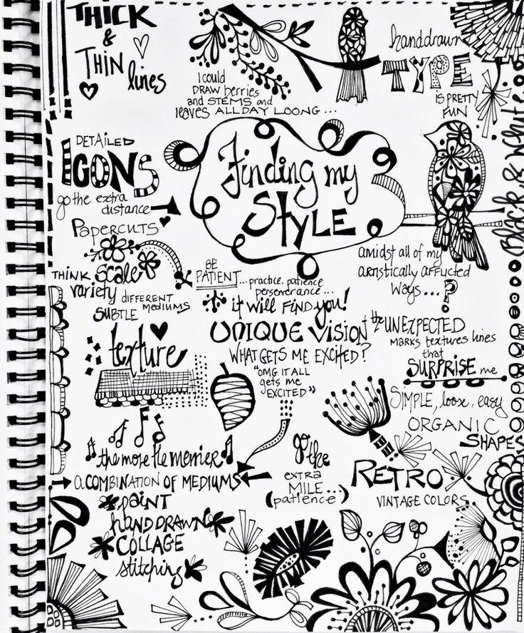 julie hamilton designs-art journal page | Artist journal ...
