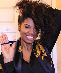 Techniques Every Curly Must Know: The Pineapple - Knowing and using the pineapple technique is critical to retaining length, but it also keep your curls from looking flat and lifeless. Keeping your hair in pineapples can also help to stretch your curls over time....