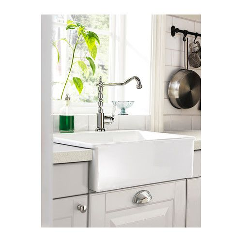 DOMSJÖ Single bowl sink IKEA 25 year guarantee. Read about the terms in the guarantee brochure.