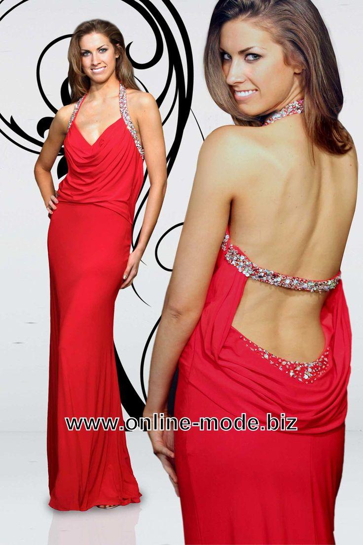Groß Sexy Rückenausschnitt Prom Kleid Bilder - Brautkleider Ideen ...