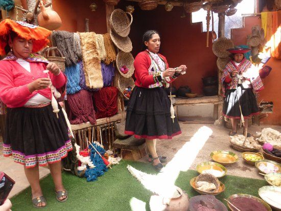 The Inca Adventure Treks, Cusco Picture: Centro Cultural Parwa en Chinchero - earn about traditional weaving techniques and even purchase fair-trade handmade alpaca apparel and decoratives at Centro Textil Urpi Centro Cultural Parwa for a fraction of the cost you'd pay in Cusco or Lima.