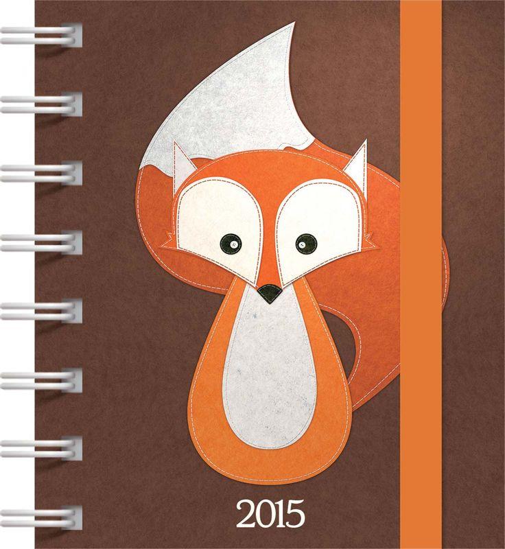 Fox Square Pocket Diary 2015