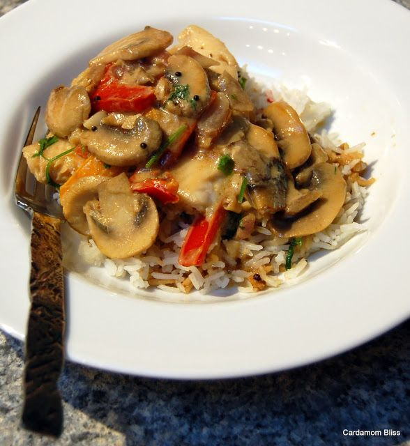 Cardamom Bliss: It's not your mamma's cooking: Easy Thai Coconut Fish (or Chicken or Shrimp!)