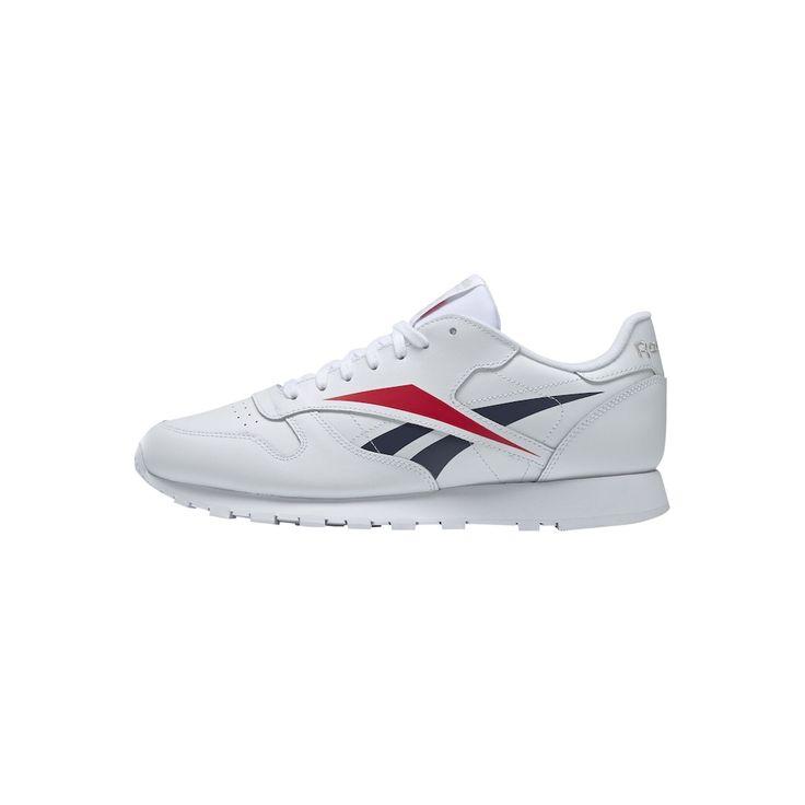Reebok Classic Sneaker 'Vector' Herren, Dunkelblau / Hellrot / Weiß, Größe 34/34.5