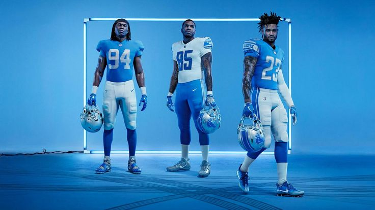 The Detroit Lions unveil their new look during a season ticket member event at Ford Field tonight. They'll showcase four new Nike Vapor Untouchable uniforms that, in addition to new technologies that will help them on the field, feature fresh style updates. (Don't worry, Honolulu Blue isn't going anywhere.) Here's what every Lions fan will want to know about them.