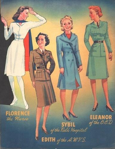 Girls in Uniform 1942 Uncut Original Book | eBay