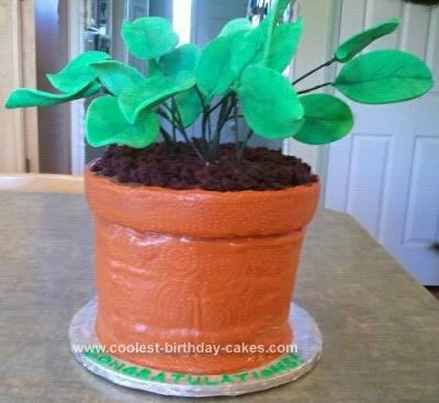 Coolest Potted Plant Cake In 2019 Cakes I Have No