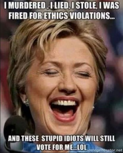 Silence is Consent | 6 memes explaining the how and why Hillary Clinton gets to escape justice