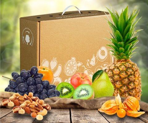 Obstbox BALANCE SNACK: Unser Geheimtipp für deine Gesundheit - bleib im Gleichgewicht mit der Vitaminkraft der Früchte. Eine bunte Mischung verschiedenster Obstsorten verwöhnt dich Tag für Tag. Leckere kernlose Trauben, knackige Äpfel und kernige Power aus Nusskernen erwarten dich in dieser Fruchtkomposition.