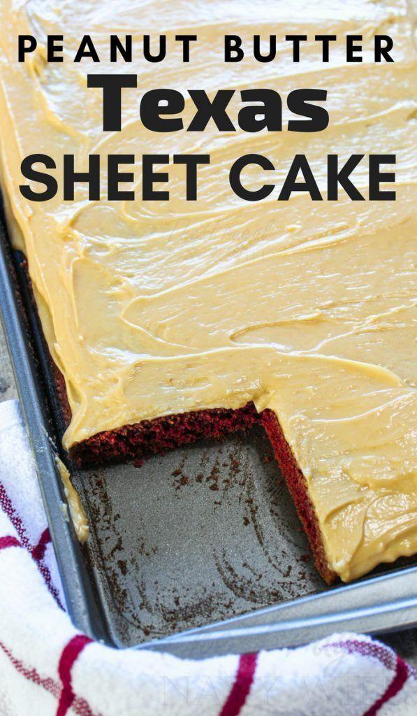 Texas Sheet Cake Recipe Made With Cinnamon