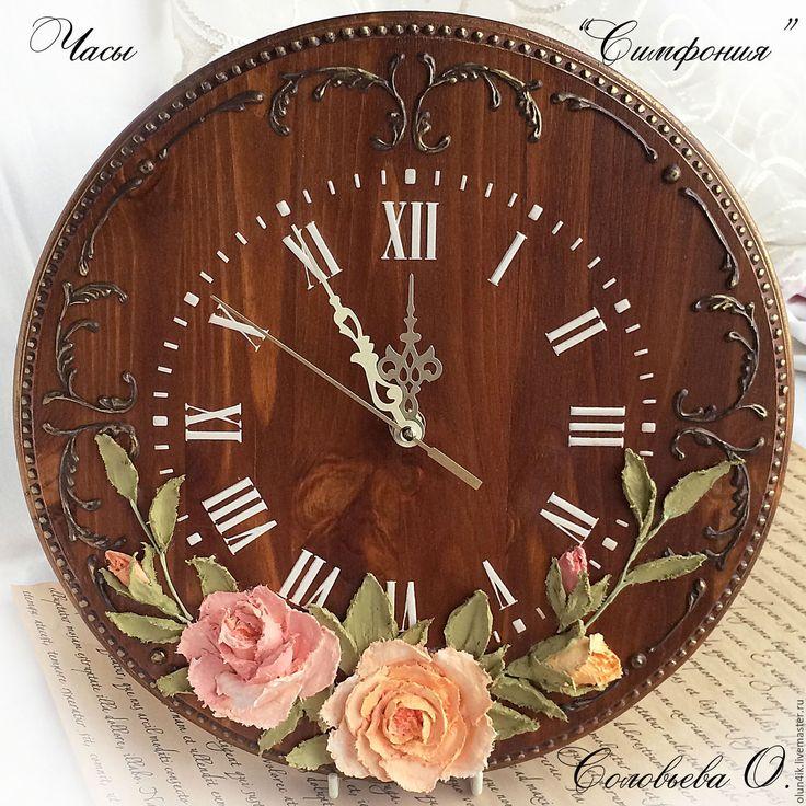 """Купить Часы """"Симфония"""" - часы, часы настенные, часы интерьерные, для дома и интерьера, интерьер"""
