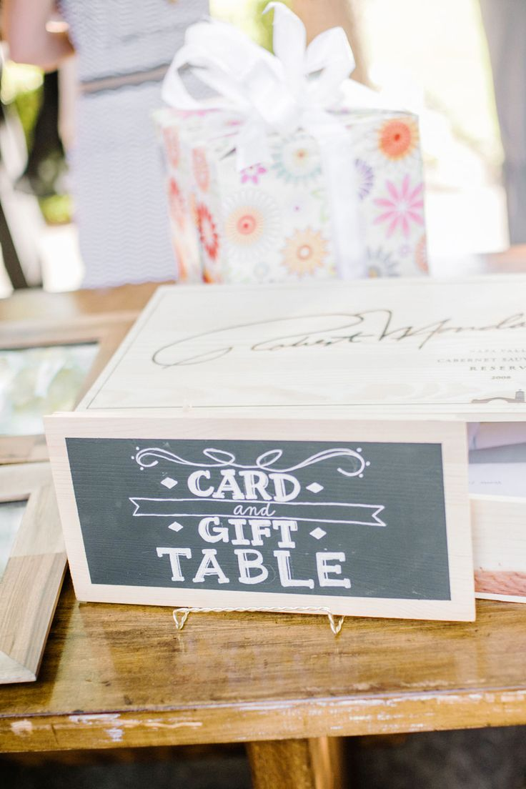 Wedding Gift Card Table : Card and Gift table complete with another lovely little #diy # ...