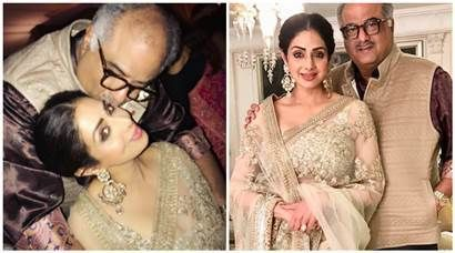 Sridevi and Boney Kapoor continue to give us couple goals - The Indian Express #757Live