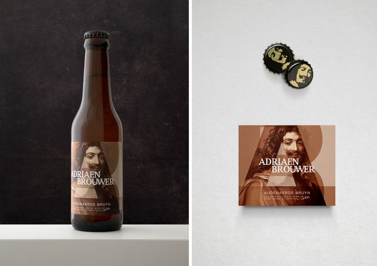 Adriaen Brouwer packaging design