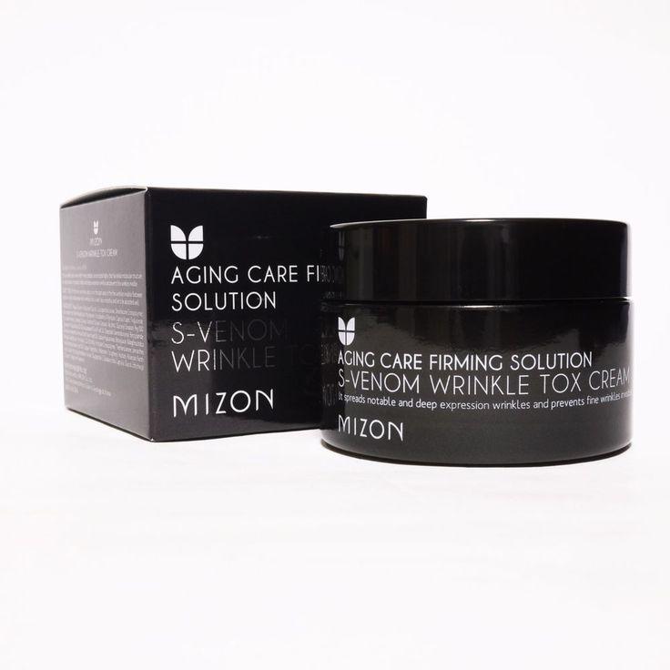 MIZON S-Venom Wrinkle Tox Cream 50ml SYN-AKE4% Snake Venom Cream #MIZON