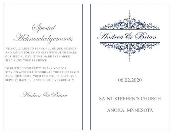 microsoft office wedding program templates selo l ink co
