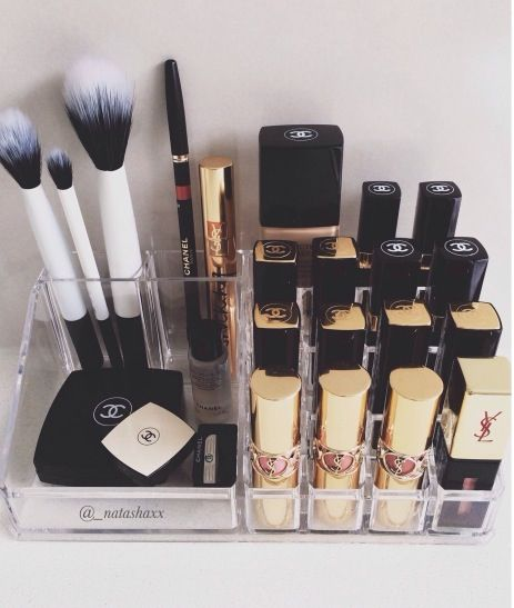 What a fabulous way to organize your beauty products! #beauty #makeup #organizeyourlife