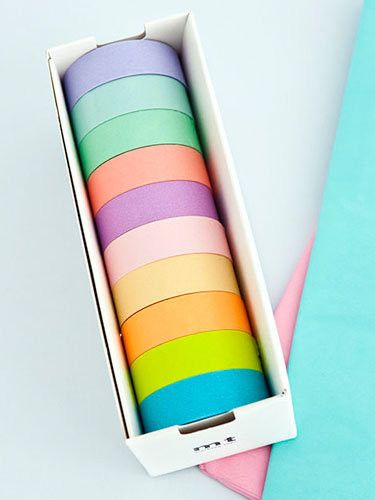 Japanese Washi Masking tape - create patterns on horrible furniture and walls :)
