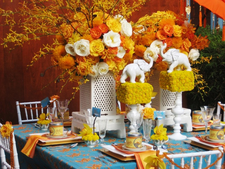 Moroccan table inspiration