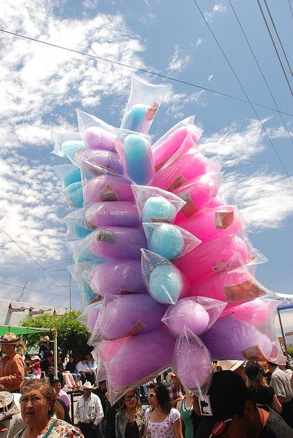 Candyfloss / Cotton Candy Totem.