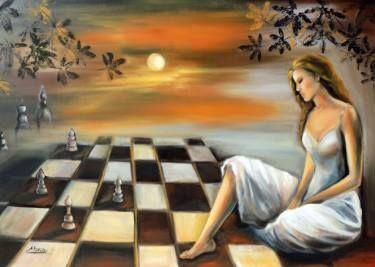"Saatchi Art Artist areti ampi; Painting, ""Strategy"" #art"