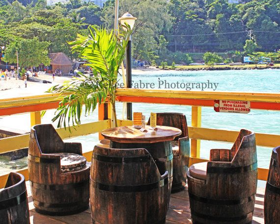 Jamaica caribbean barrel chairs island restaurant by