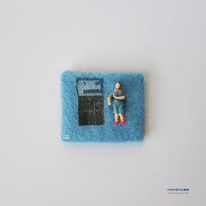 Talking to you, makes my day – I see faces everywhere  minimass® TINY ART by Anne-Marie Ros .nl #14 is available - makes a great gift or just spoil yourself ;)