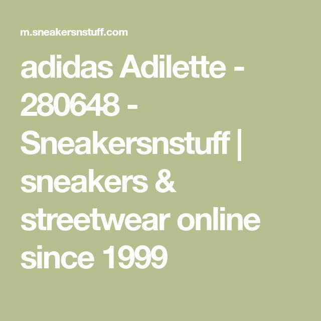 adidas Adilette - 280648 - Sneakersnstuff | sneakers & streetwear online since 1999