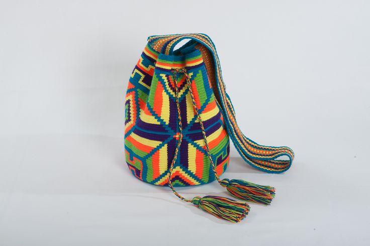 wayuu mochila bag at #stylewise #wayuu #wayuu_bag #wayuu_mochila