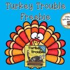 FREE! 2 activities to go along with the book, Turkey Trouble. Use the picture cards for retelling the story. Use the turkeys on the mat to show numerals ...