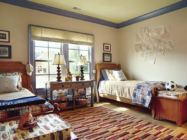 17 best images about guest bedroom twin on pinterest americana bedroom boy rooms and wall colors. Black Bedroom Furniture Sets. Home Design Ideas