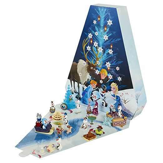 Disney Frozen Olaf's Frozen Adventure Advent Calendar. My daughter's favorite movie! This would be a great advent calendar for kids!