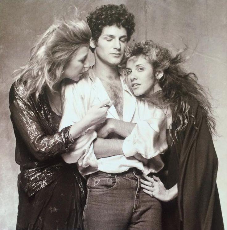 Christine McVie, Lindsey Buckingham, and Stevie Nicks