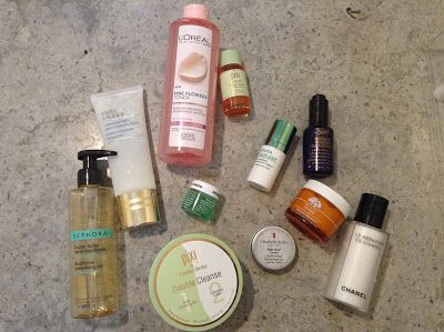 My PM Skincare routine   Beauty Notes by Athina