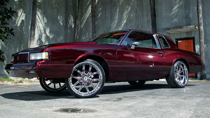 1987 chevrolet chevy monte carlo #BecauseSS g body rides magazine asanti wheels af150