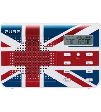 Multi-regional digital radio (compliant to all European standards of digital radio)    Special Union Jack Edition.  Takes an optional ChargePAK A1 for portable listening.  Slim, lightweight design.  LCD screen.  Digital and FM tuner.