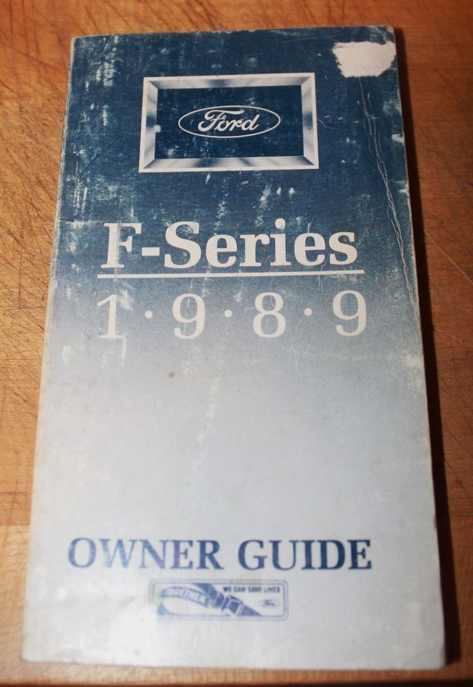 The 25 best ford owners manual ideas on pinterest ford f series owners manual guide 1989 fandeluxe Image collections