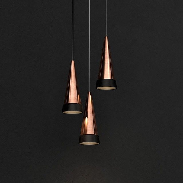 takeovertime, love these copper lights.