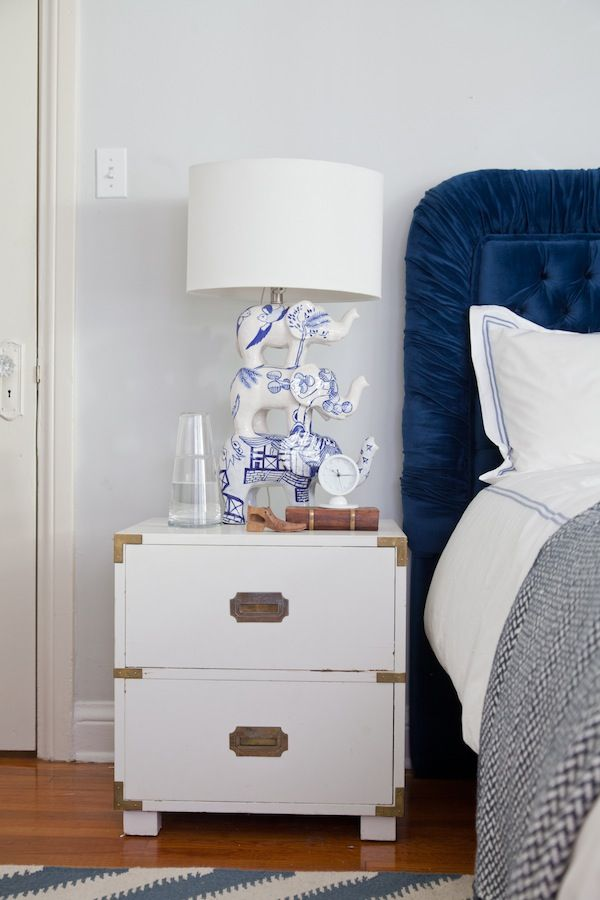 Emily Henderson U2014 Styles Her Nightstand With Shirley Fintz Table Lamp!